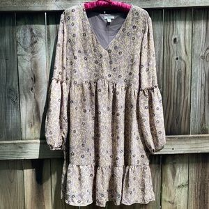 Cato floral dress